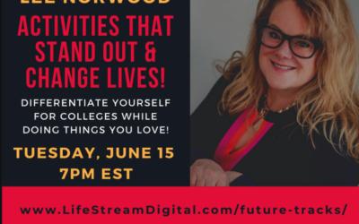 Activities That Change Lives – Presentation Tues June 15th 7pm EST